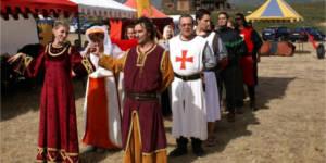 Fiesta de Guerreros y Princesas