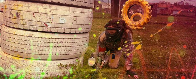 Partida Paintball Grao Castellón